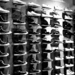 black and white Chucks